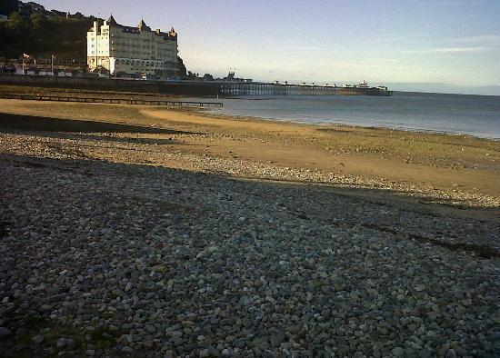 North Shore beach, Llandudno. With extra rocks.
