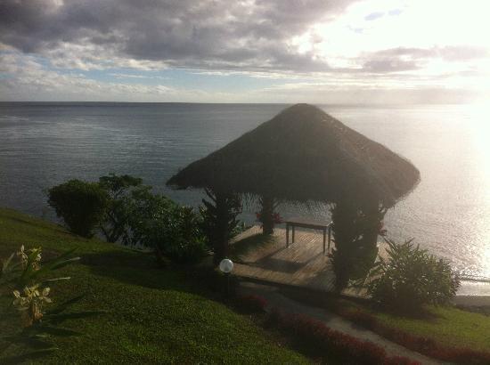 Garden Island Resort: gazebo