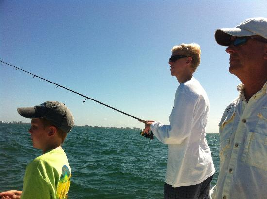 Fishing with Soulmate Charters.