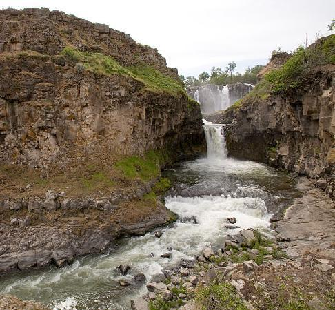 White River Falls State Park: Courtesy OR State Parks