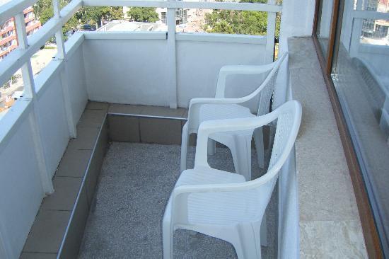 Kuban: One of the balcony's
