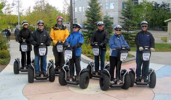 EcoSeg Alaska: Canadians on Segways - Fun!