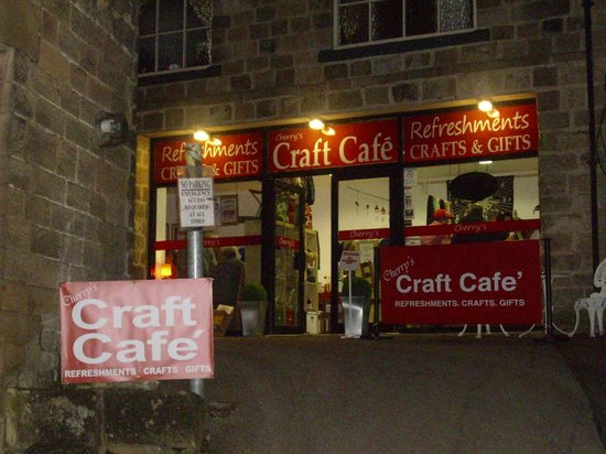 Cherry's Cafe: An oasis off the busy A6 in Matlock Bath