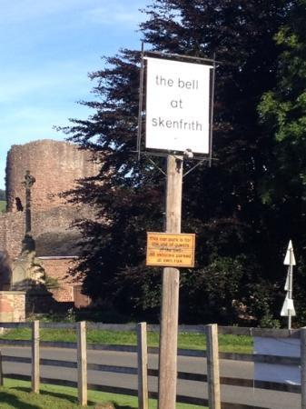 The Bell at Skenfrith: Skenfrith Castle