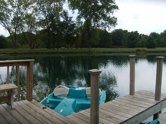 Peppertree at Tamarack HOA: Use a paddle boat for free