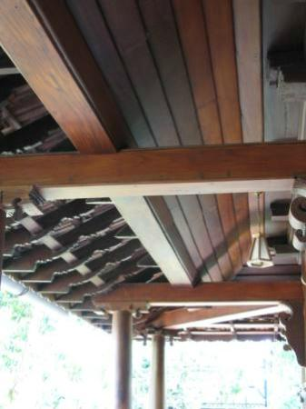 Nelpura Heritage Homestay: details of eaves