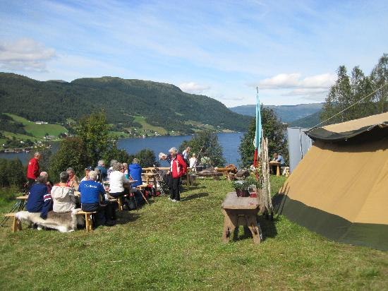 Skogan Outdoor Farm: Fjord View Campsite