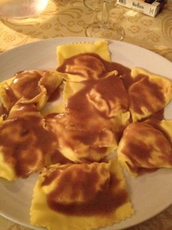 Ristorante Laudomia da Rossano : chestnut tortelloni
