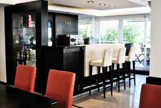 Hotel Castilla: Zona Cafeteria
