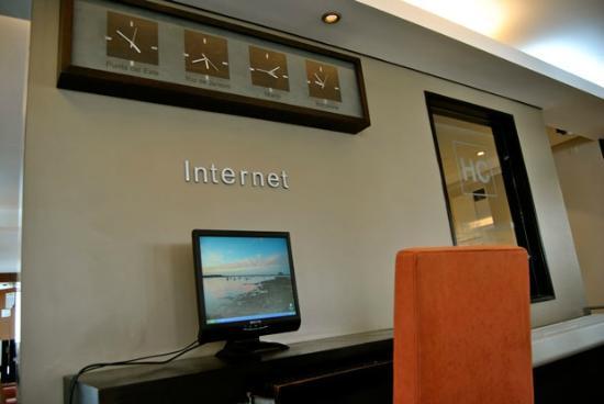 Hotel Castilla: Zona Internet