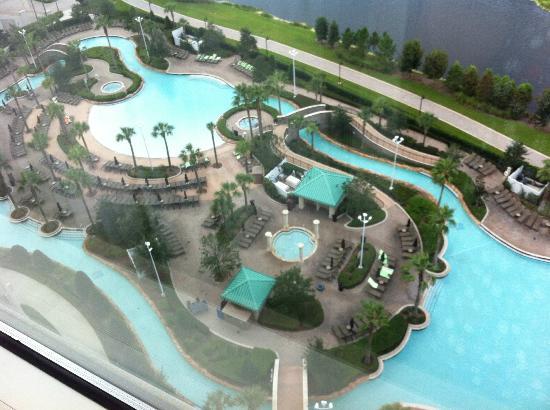 The Fabulous Pool Picture Of Hilton Orlando Bonnet Creek