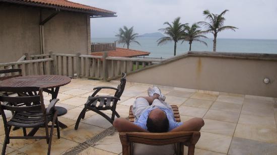 Villa Rasa: Varanda privativa