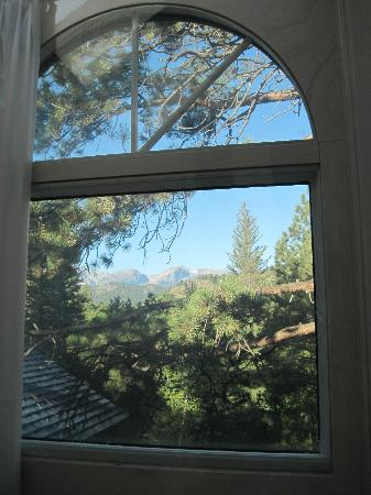 Romantic Riversong Bed and Breakfast Inn : Shower Window