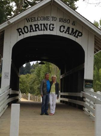 Roaring Camp & Big Trees Narrow-Gauge Railroad: Entrance to the Park