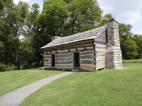 Log Cabin Picture Of Andrew Jackson 39 S Hermitage