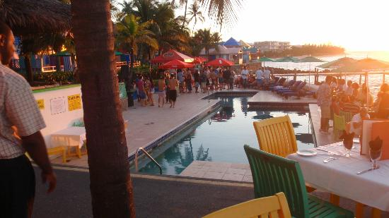 Compass Point Beach Resort: Night of the pool party