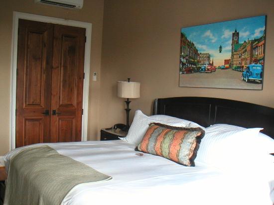 My room at Bleckley Inn