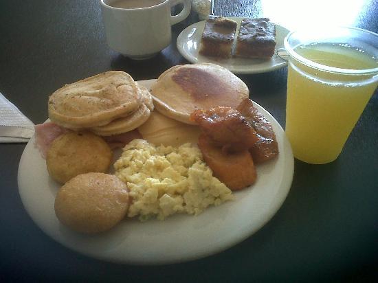 Hotel Kokobay: Mi pequeño desayuno