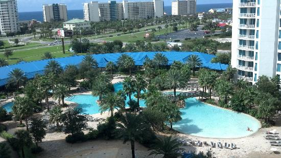 The Palms Of Destin Resort And Conference Center Pool Hotel Grounds