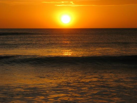 Province de San Jose, Costa Rica : Sunset at the Pacific coast