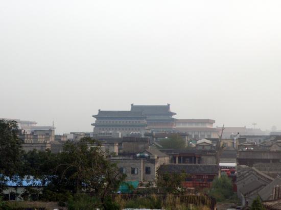 جينجتايلونج إنترناشونال هوتل: 部屋からの眺め/朝 