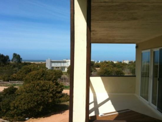 La Viuda de Jose Ignacio: Ocean view from the balcony