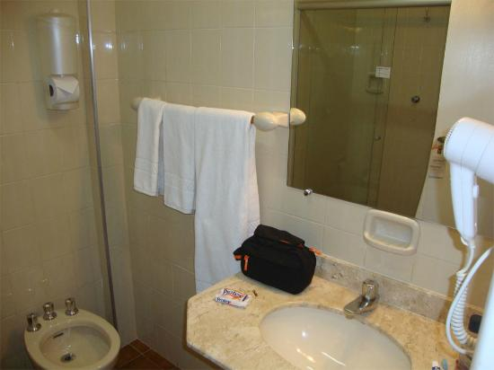 Hotel Opala Avenida : Banheiro