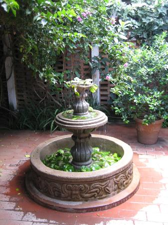 Hotel Casa Naranja: fountain