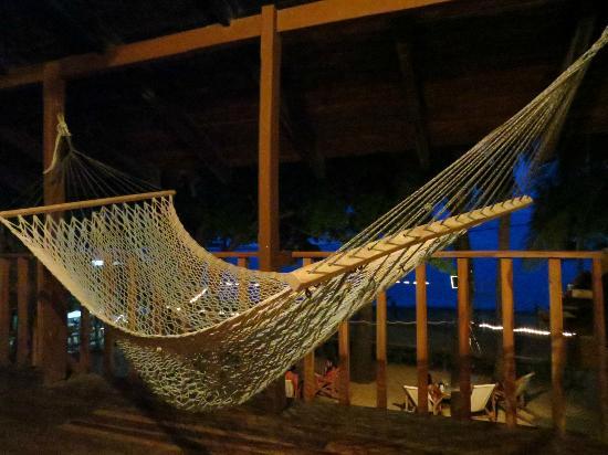 Hotel Brasilito: Hammock in the evening