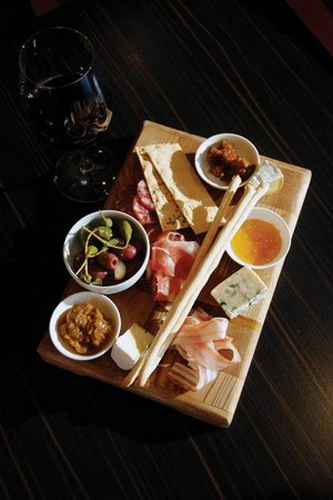 Blue Angel: Beautiful Antipasto platter for Lunch