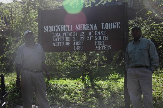 Serengeti Serena Safari Lodge : Nuestros amables guías.