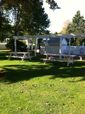 Pink Blossoms Resort (Family Suites): Picnic area
