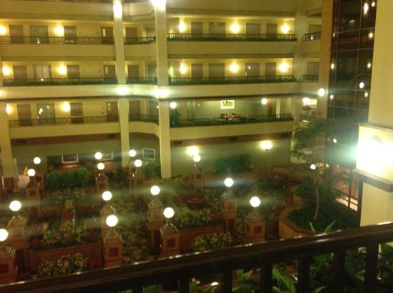 Embassy Suites by Hilton Lexington: looking out over the third floor about
