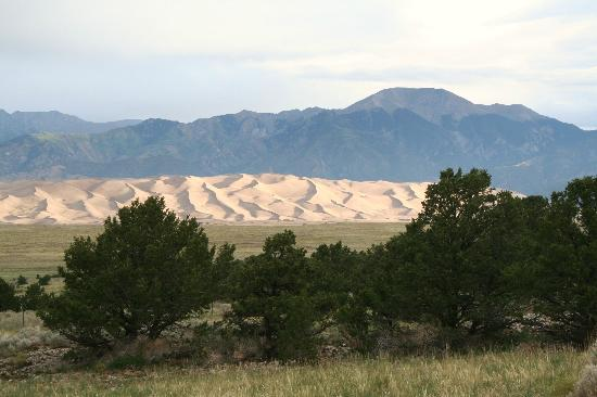 Great Sand Dunes Lodge: View from outside Room 11