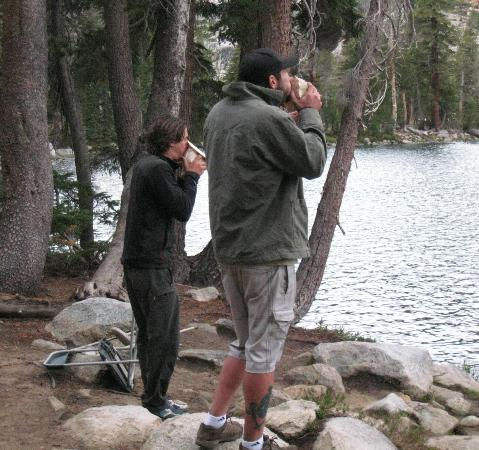 Yosemite High Sierra Camps: Conch shells - May Lake