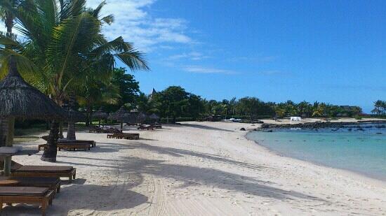 Shanti Maurice - A Nira Resort: plage du Shanti