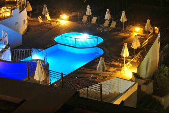 Filion Suites Resort & Spa: View from the room - night time