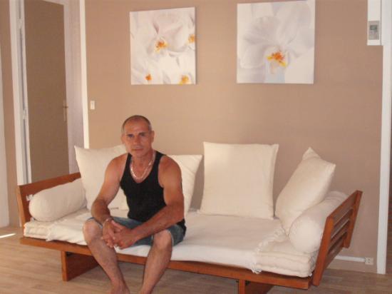 Hôtel de Thau: Coté salon super