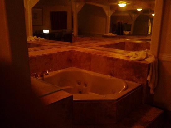 American Executive Inn: hot tub