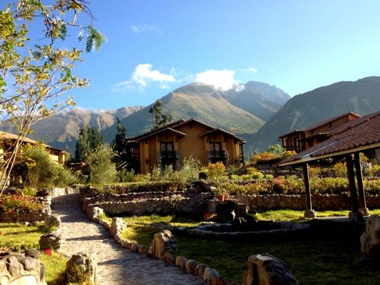 Inkallpa Valle Sagrado: Inkallpa hotel and surrounding