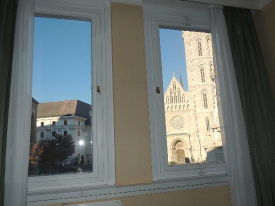Burg Hotel: Panorama da camera al primo piano