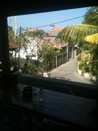 Surya Inn: breakfast view