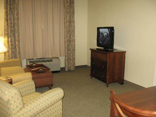 Homewood Suites by Hilton Charleston Airport / Conv. Center: Living Room view with TV