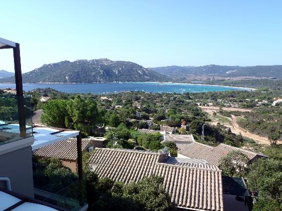 Hôtel Carré Noir : View from the breakfast terrace