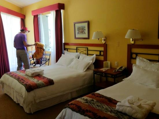 Tierra Viva Valle Sagrado Urubamba: our pretty room with view of the river.