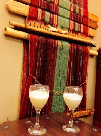 Tierra Viva Valle Sagrado Urubamba: Pisco Sours, courtesy from the hotel