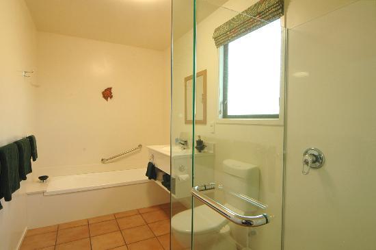 Coromandel Court Motel: Bathroom 2 Bedroom Unit
