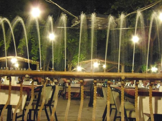 Ley Ley Restaurant: This is actually the lake!