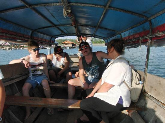 The Black Crab: Longboat trip back home