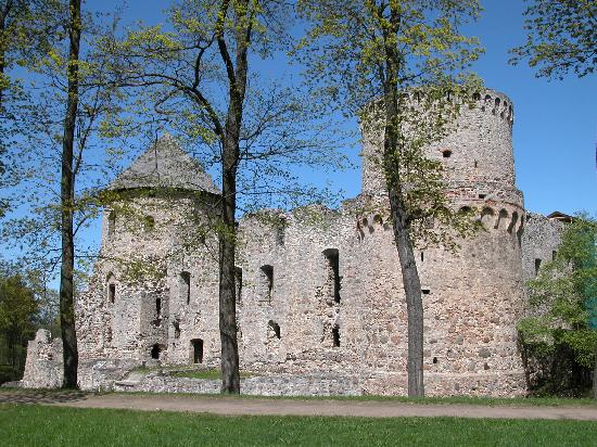 Letonia: Cesis Castle Complex, Latvia